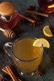 Varm varm Toddy med citronen fotografering för bildbyråer