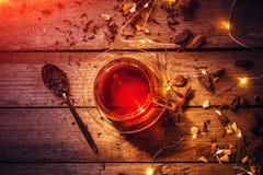 varm vinter för drink arkivfoto