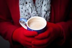 varm vinter för choklad Royaltyfria Bilder