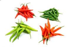 varma chilies Fotografering för Bildbyråer