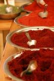 varma kryddor Arkivfoton