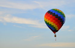 1 varma luftballong Arkivbilder