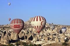 varma luftballons Arkivbilder