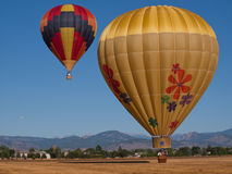 varma luftballons Royaltyfria Bilder