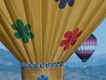 varma luftballons Royaltyfria Foton