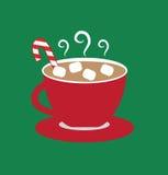 varma marshmallows för choklad vektor illustrationer
