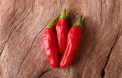 Varma Peri Peri Chillies Royaltyfria Foton