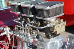 Varma Rod Engine Arkivbild