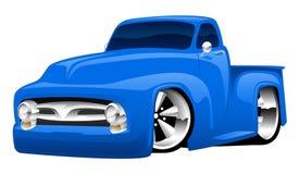 Varma Rod Pickup Truck Illustration royaltyfri illustrationer