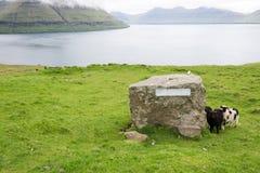 Varmakelda on the Faroe Islands Stock Photo