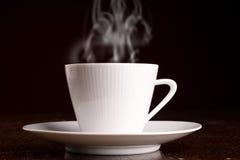varmt ånga för kaffekopp Royaltyfri Bild