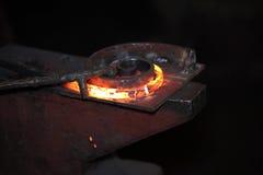 varmt diagram förbereda någon stålstick Arkivfoto