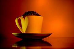 Varmt Drinks/kaffe arkivfoto