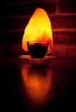 varmt exponeringsglas för kaffekopp Royaltyfri Fotografi