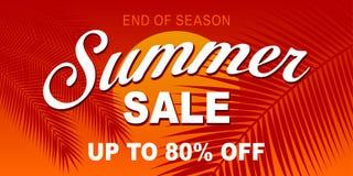 Varmt försäljningsbaner för sommar Royaltyfria Bilder