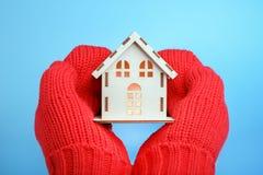 varmt hus 3d härligt dimensionellt diagram husillustrationmodell tre mycket royaltyfri bild