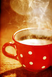 varmt kaffe Royaltyfria Foton