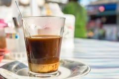 Varmt kaffe för thailändsk tradition Arkivfoton