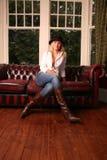 varmt läder Royaltyfria Foton