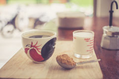 Varmt nytt kaffe Arkivbilder