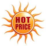 varmt pris stock illustrationer