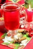 Varmt te för jul Fotografering för Bildbyråer