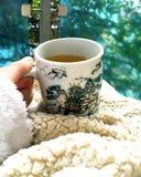 Varmt te för kalla dagar royaltyfri foto