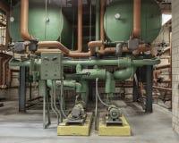 Varmvatten som pumpar systemet Royaltyfria Bilder
