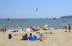 Varna beach view,Bulgaria Stock Image