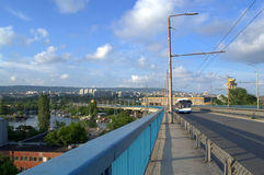 Varna bridge bay Stock Photography