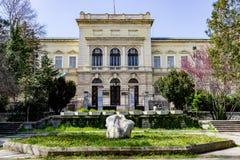 Varna, Bułgaria, Kwiecień 26, 2017 budynek Archeologiczny muzeum Zdjęcie Royalty Free