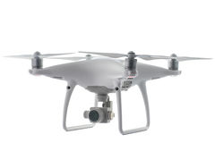 Varna, Bulgária - 5 de janeiro de 2017: Fantasma 4Pro de Dji do quadcopter do zangão imagem de stock