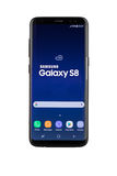Varna, Bulgária - maio, 11, 2017: Smartphone da galáxia S8 de Samsung Imagens de Stock