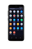 Varna, Bulgária - maio, 11, 2017: Smartphone da galáxia S8 de Samsung Imagens de Stock Royalty Free