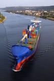 VARNA, BULGARIA - 26 SETTEMBRE: Nave da carico turca Immagini Stock