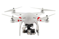 Free Varna, Bulgaria - April 23 ,2016: Image Of Quadcopter Dji Phantom 2 With Digital Camera GoPro HERO4 Isolated On White Stock Images - 70579264