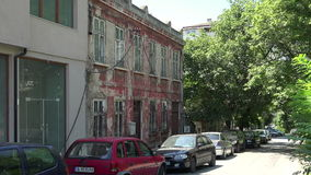 Varna. Bulgaria. Buildings, streets, districts. stock footage