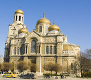 Varna, Bulgaria, cathedral of Assumption of the Virgin Mary Stock Images