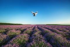 Varna, Bulgaria - 22 giugno 2015: Quadcopter Dji pH del fuco di volo Fotografia Stock