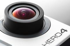 Varna, Bulgaria - May 28, 2015: GoPro Hero 4 Black Edition isola Stock Image