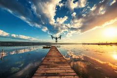 Varna, Bulgaria - May 13 ,2016: Image of DJI Inspire 1 Pro drone