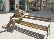 VARNA, BULGARIA - MAY 02, 2017: Monument to city citizen, royalty free stock photo