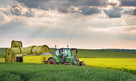 Varna, Bulgaria - May 23th, 2016: Tractor FENDT 724 Vario. Fendt Stock Image