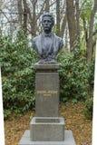 VARNA, BULGARIA, 26 NOVEMBER, 2014: Statue of Vasil Levski, VAsi. L Levski was a  Bulgarian revolutionary , he is a Bulgarian Hero today Stock Images