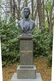 VARNA, BULGARIE, LE 26 NOVEMBRE 2014 : Statue de Vasil Levski, VAsi Images stock