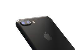 Varna Bulgarien - December, 04, 2016: Iphone 7 plus isolerat Fotografering för Bildbyråer
