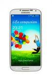 Varna Bulgarien - Juni 19, 2013: Mobiltelefonmodell Samsung Galaxy Arkivbilder