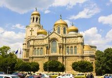 Varna, Bulgarien, Kathedrale der Annahme von Jungfrau Maria Lizenzfreies Stockbild