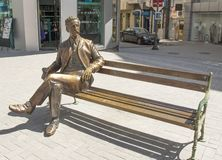 VARNA, BULGARIEN - 2. MAI 2017: Monument zum Stadtbürger, lizenzfreies stockfoto