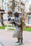 Varna Bulgarienmonument Fotografering för Bildbyråer
